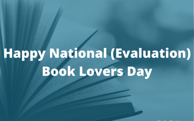 Happy National (Evaluation) Book Lovers Day