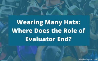 Wearing Many Hats: Where Does the Role of Evaluator End?