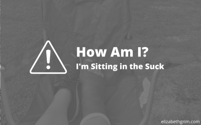 How Am I? I'm Sitting in the Suck