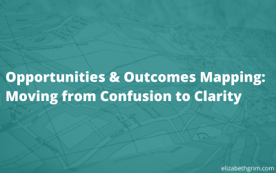 Opportunities & Outcomes Mapping: Moving from Confusion to Clarity